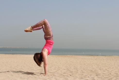 Handstand Strand Yoga